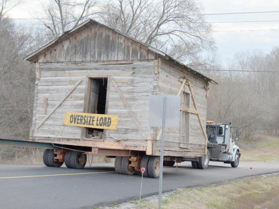 Settler's Cabin makes journey to Bella Vista Historical Museum