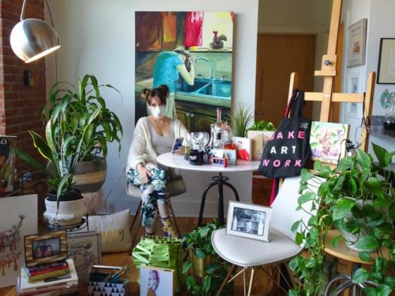 Artist Kat Wilson inspires covid-19 photographs