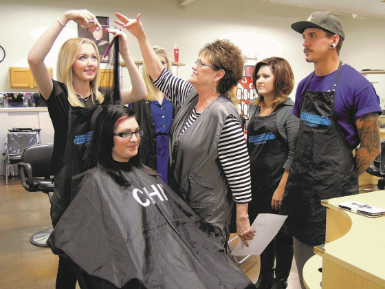 Career Academy of Hair Design graduates business savvy designers, entrepreneurs